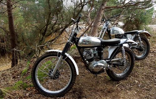 Talmag Trophy Trial (motorcycle), Hants, Jan 2015