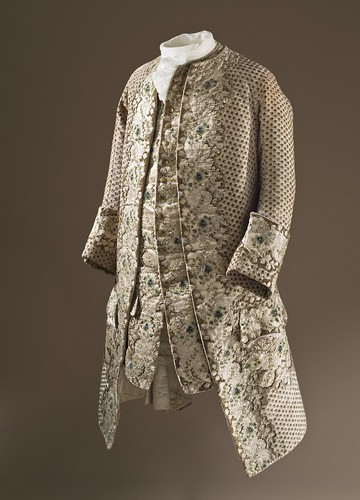 Man's Coat and Waistcoat LACMA M.57.35a-b (1 of 3)