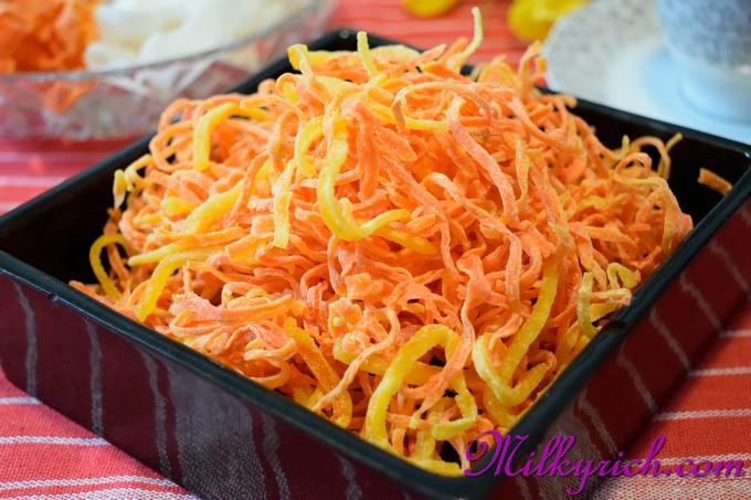 Mứt cà rốt sợi - 1
