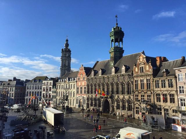 Grand Place de Mons (Valonia, Bélgica)
