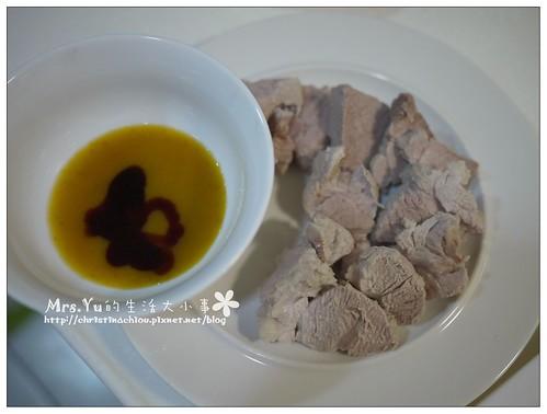 客家桔醬+白切肉