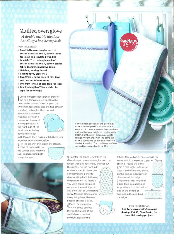 Stylish Home Sewing Good Homes March 2015 3