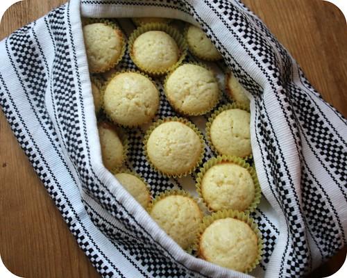 Sweet Mini Lemon Muffins