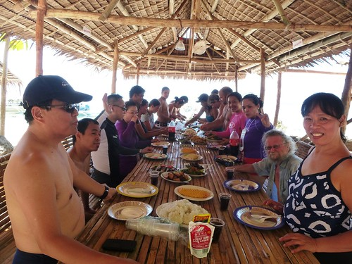 Bus-Coron-iles-Atwayan Beach-Lunch (25)