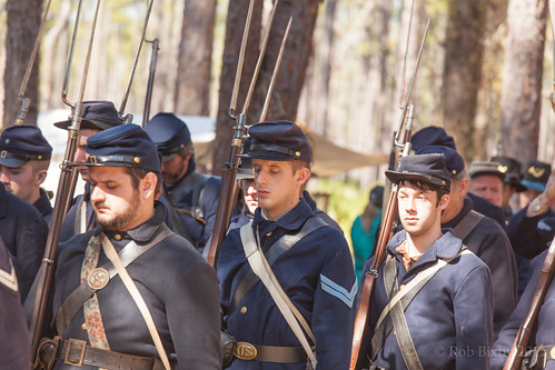 camp history battle civilwar soldiers reenactment olustee