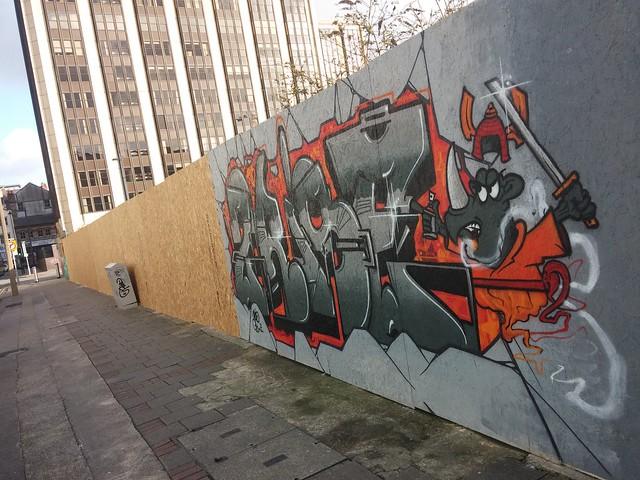 Empty Walls Street Jam