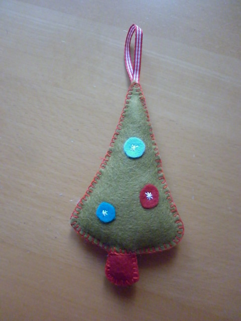 Felt decoration
