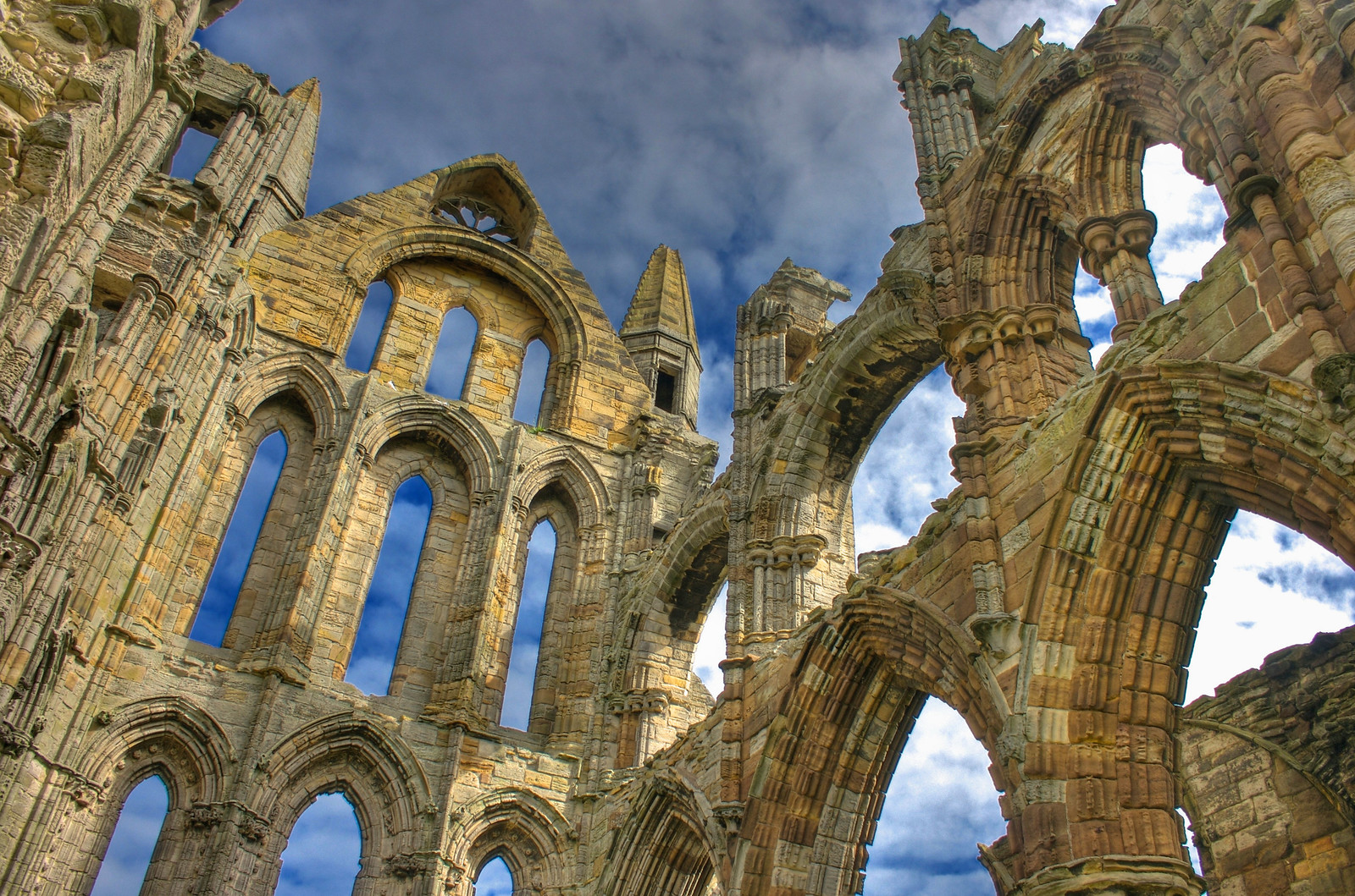 Whitby Abbey. Credit Mike Peel
