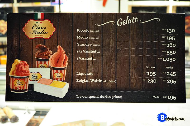 casa italia gelato