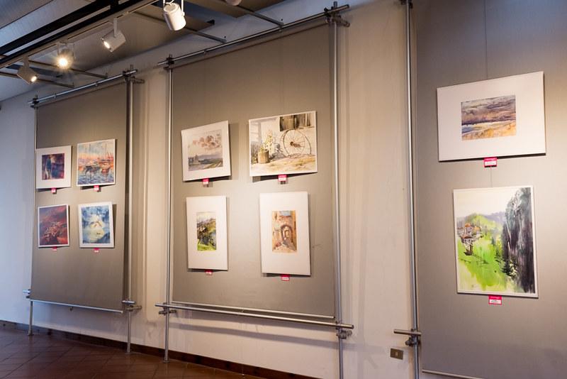 Watercolor exhibition in Fabriano