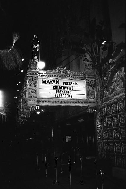 Buzzcocks Mayan Theater Minolta AF2