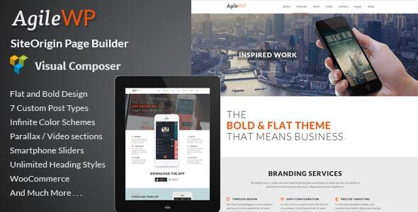 Agile v4.1 - Multi-Purpose App Showcase WordPress Theme
