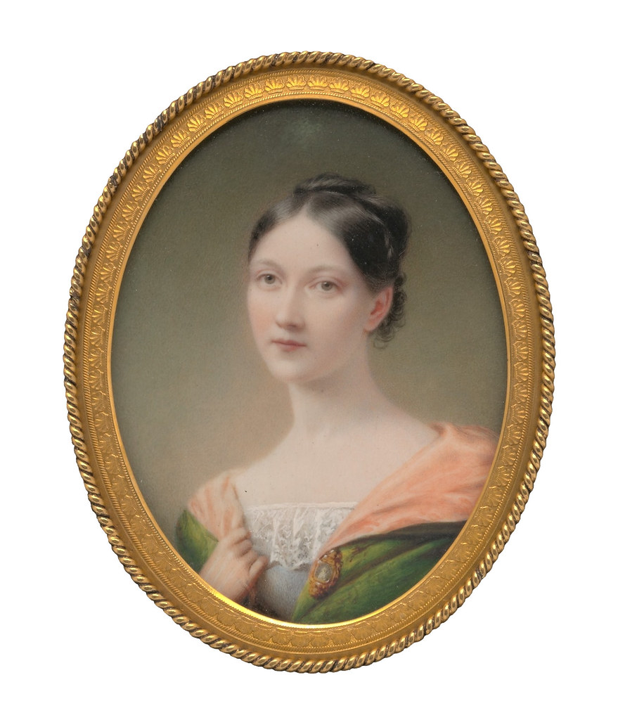 Portrait of a Lady by Charles Cromwell Ingham, 1837