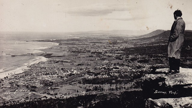 Sublime Point Lookout Wollongong circa 1925  [RAHS Photograph Collection]