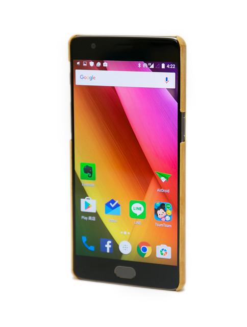 OnePlus 3 一加手機三 原廠配件 – 竹保護殼 / Type C 傳輸線分享 @3C 達人廖阿輝
