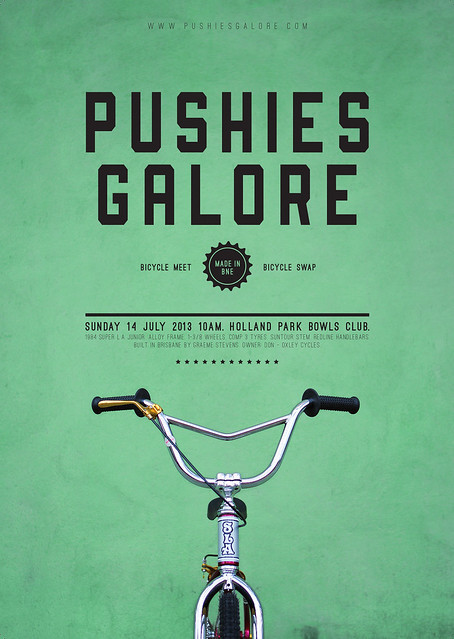 Pushies Galore 2013 Flyer