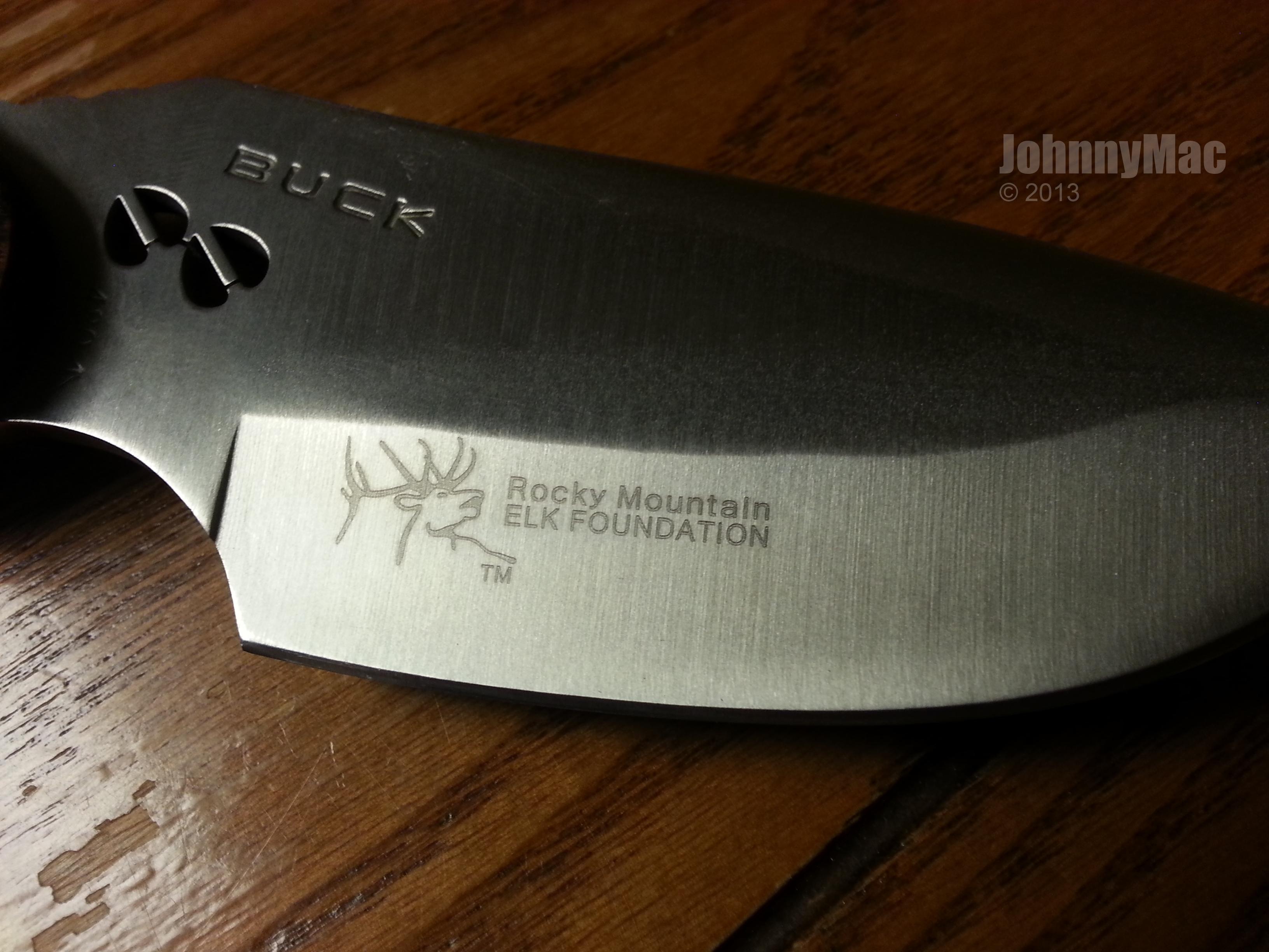 buck 480 fixed blade drop point knife johnny mac reviews