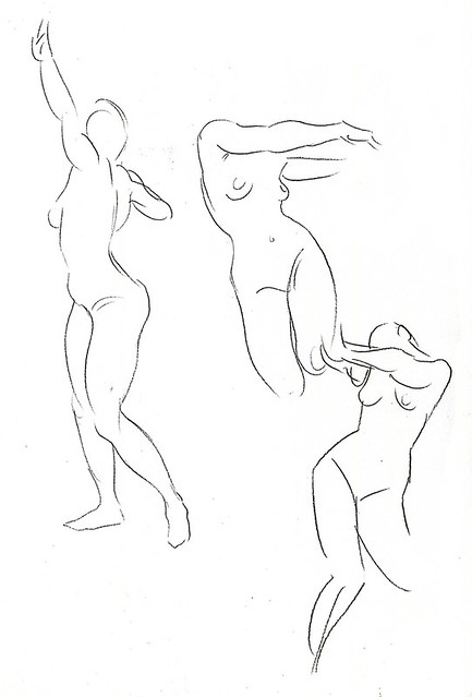 redline life drawing