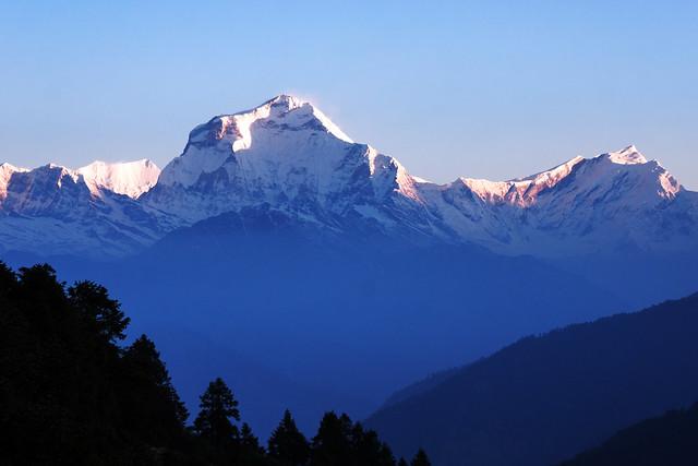 Sunrise at Mt. Dhaulagiri (8,167m)