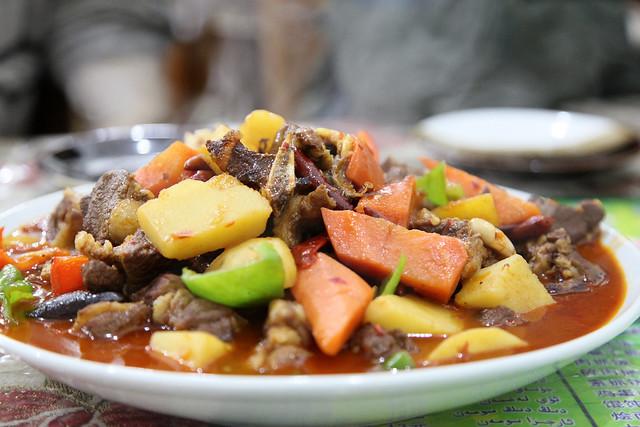 Uyghur cuisine ウイグル料理