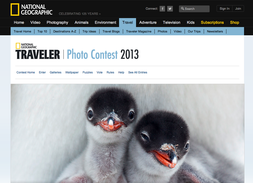 2013 National Geographic Traveler Photo Contest