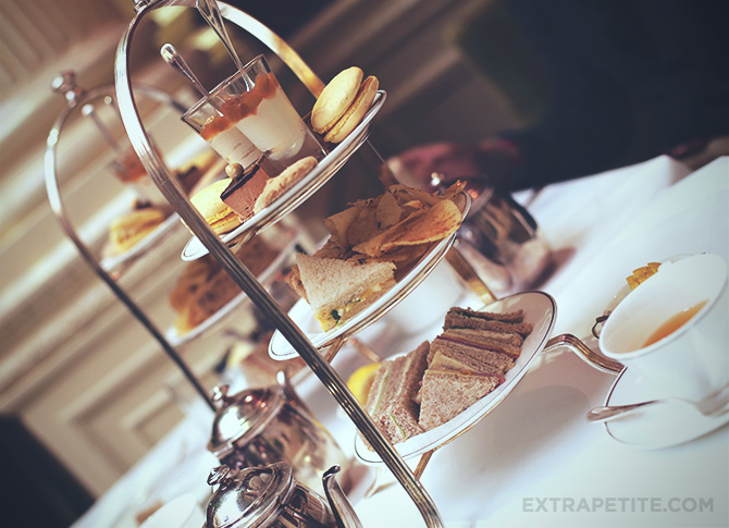 Post 1 - Balmoral afternoon tea tray
