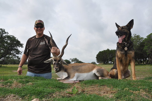 SGT. FIscher and his Blackbuck