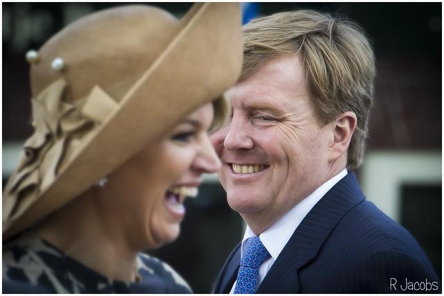 Konings bezoek Vreeswijk