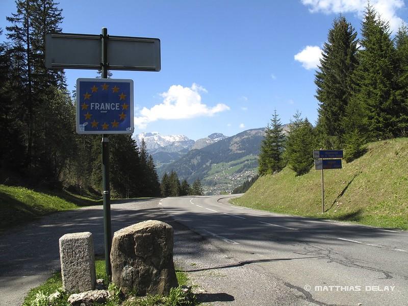 Grenzübergang Schweiz - Frankreich