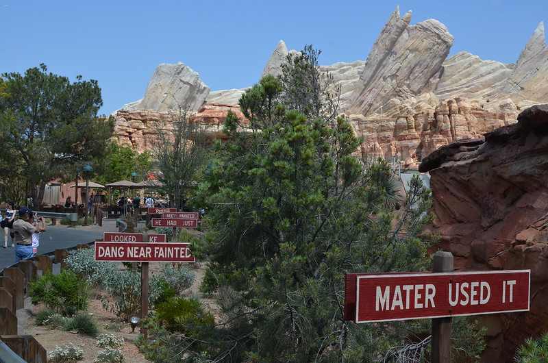 Radiator Springs scenery