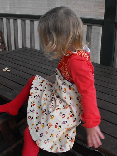 Kokeshi Tea Party Dress