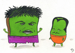 Hulk & the Leader