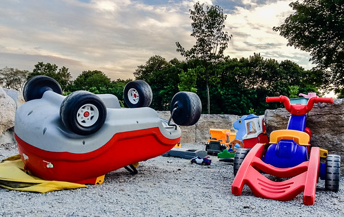 Abandoned toy turnover at Felstead - #169/365 by PJMixer