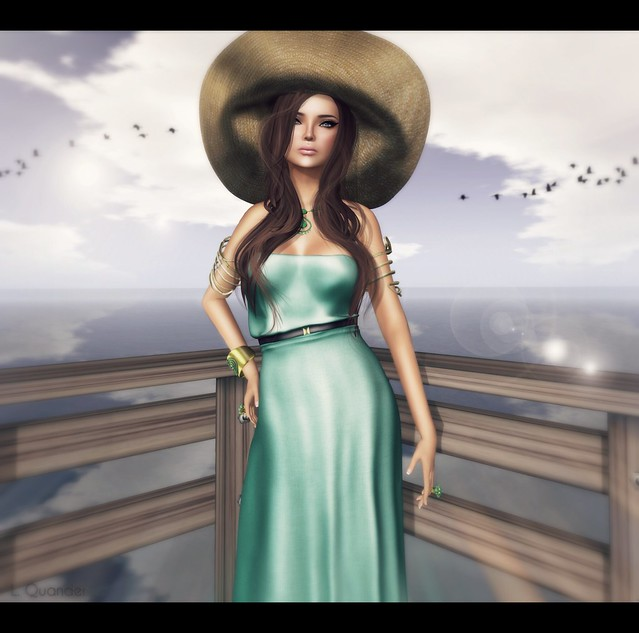Baiastice_Hina Maxi dress-light emerald for FaMESHed & -Belleza- Ashley Summerfest SK 2 for Summerfest 13 & TRUTH HAIR Wanda - Browns01 v5