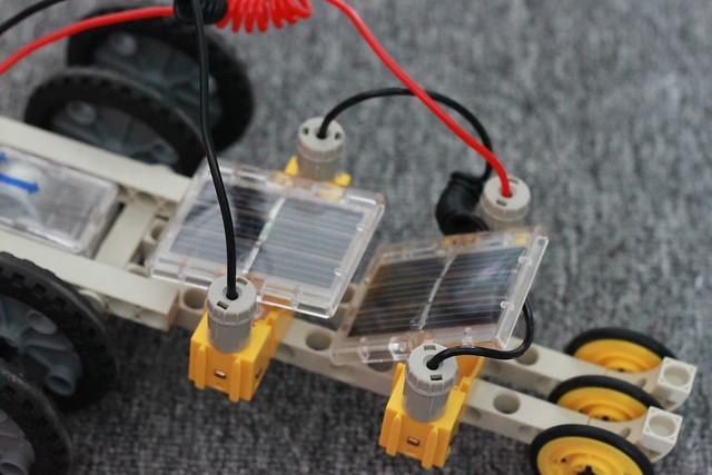 Hệ thống pin năng lượng mặt trời độc đáo