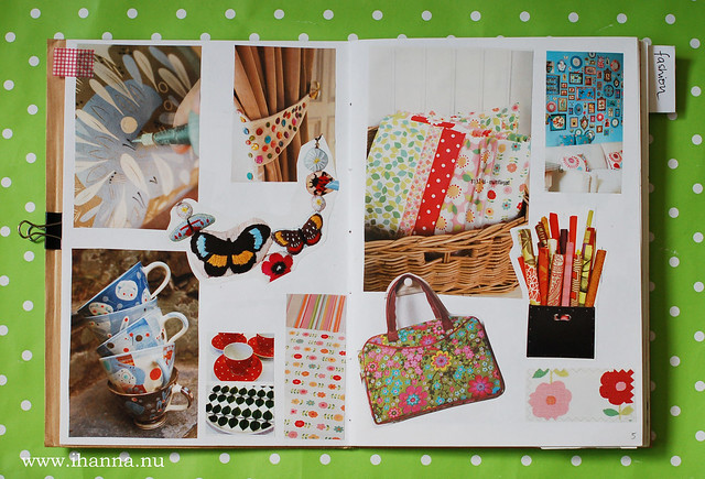 Glue Book: Cups and Fabrics