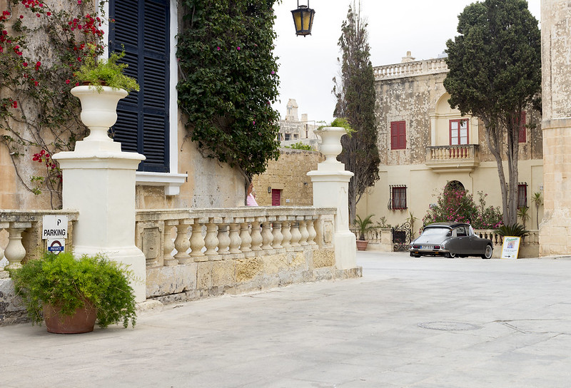 Old Citroen DS in Mdina -Malta