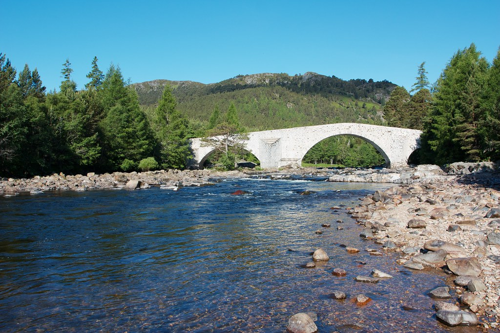 River Dee and Invercauld Bridge