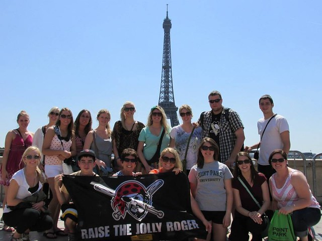 Education Students Study Abroad in London