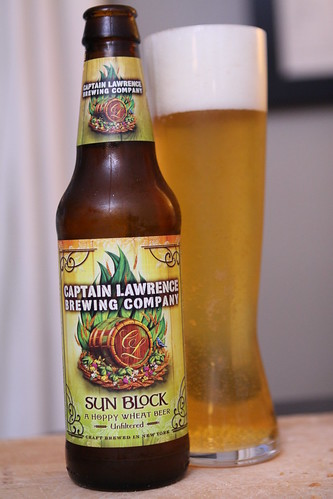 Captain Lawrence Brewing Company Sun Block