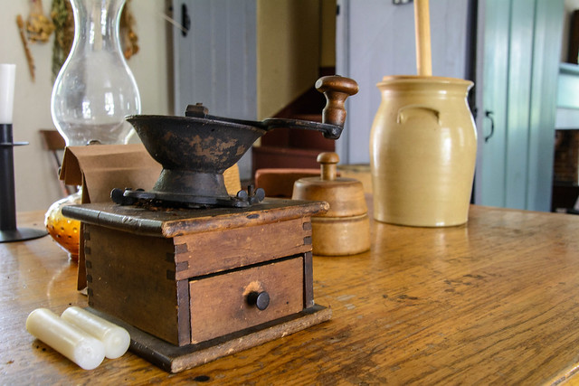Coffee Grinder and Butter Churn