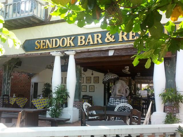 Вход в Sendok Guesthouse