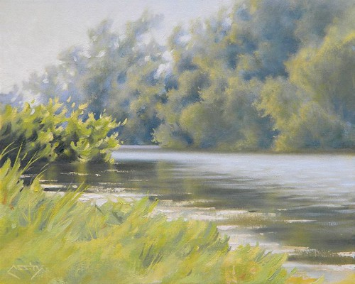 Daniel Mark Cassity landscape by trudeau