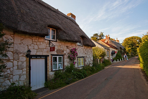 Thatched Cottages in Brighstone