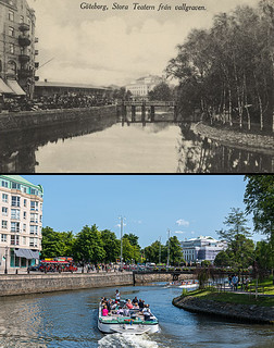 Gothenburg, Inom Vallgraven 1910 / 2013