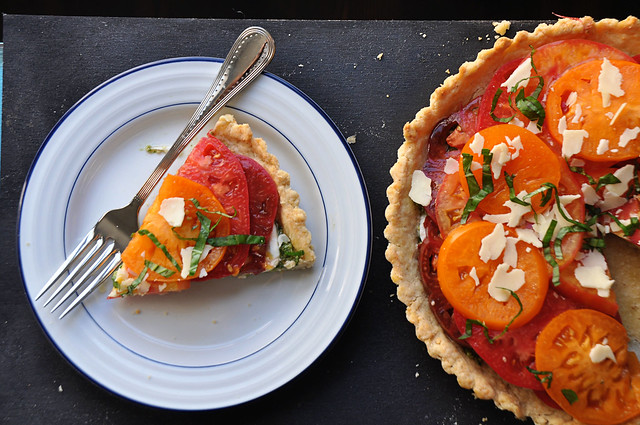 Heirloom Tomato Tart 9