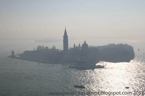 San Giorgio Maggiore von oben