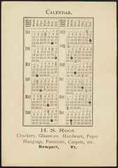 H. S. Root, crockery, china, glassware, furniture, carpets, etc. (back)