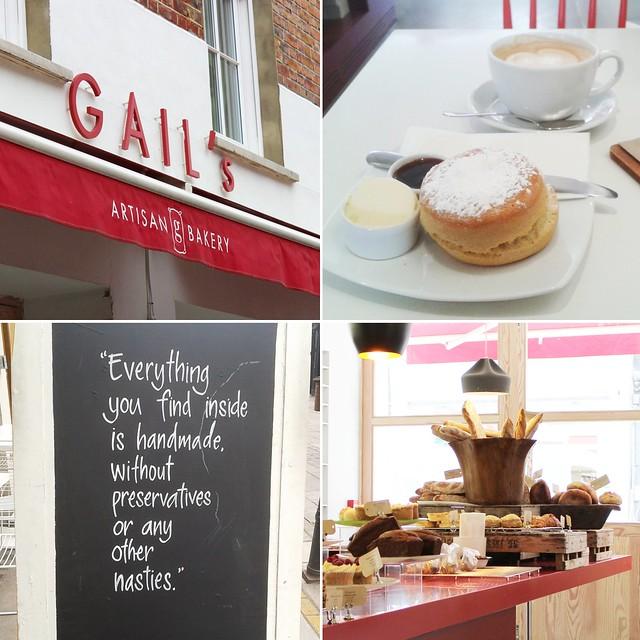 London Teil 4 (Clerkenwell + South Kensington) Gail's Artisan Bakery