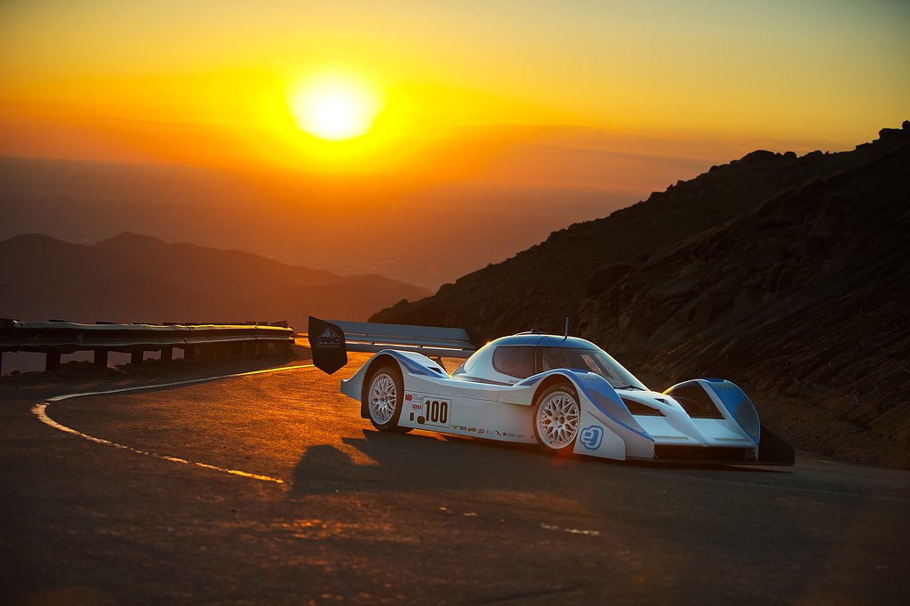 electric eo pp01 supercar for pikes peak hill climb drive eo